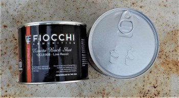 Fiocchi Canned Heat ammunition can