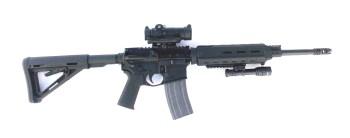 SIG Romeo 7 on top of an AR-15
