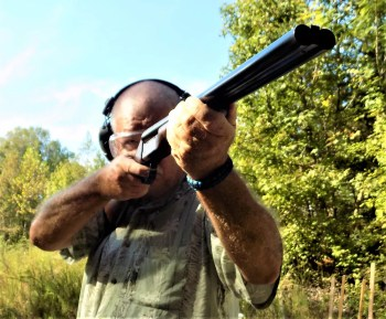 Bob Campbell shooting the Stoeger Coach Gun shotgun
