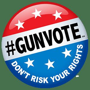 NSSF #GunVote button
