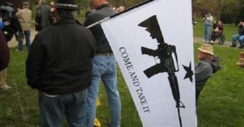 Gun activists at Washington State rally for preemption