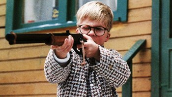 A Christmas Story - Ralphie shooting his BB Gun