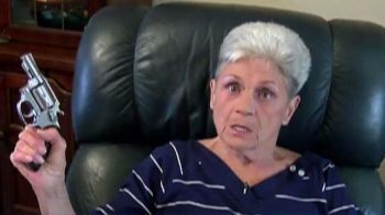 74-year-old woman who shot burglar before having a heart attack