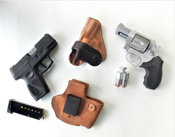 Small caliber handguns