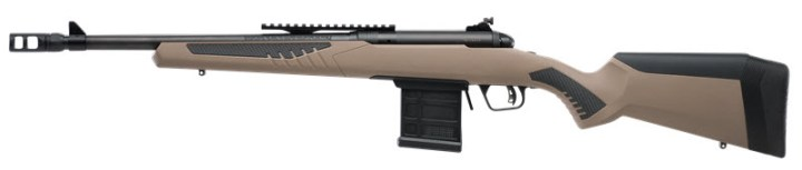 Savage Model 110 Scout rifle left profile