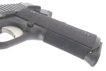ergo Grips on the SIG TACOPS 1911 pistol