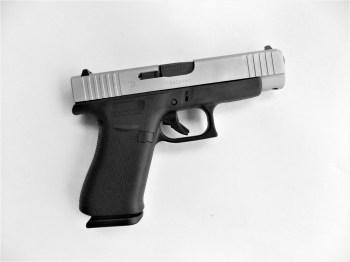 Glock 48 pistol right profile