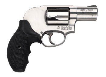 Smith and Wesson J Frame revolver chambered in .357 Magnum