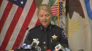 Aurora police chief at a press conference