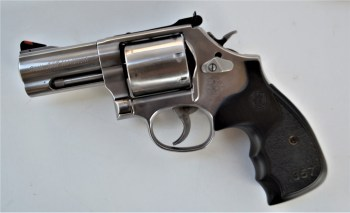 Smith and Wesson three-inch barrel 686 Plus revolver