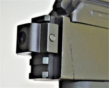 Rear pistol brace mount on the Arsenal SAM7 pistol.