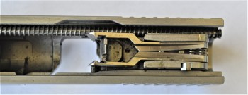 top down view of the Bond Arms Bullpup slide and barrel