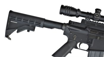 Collapsible AR-15 rifle stock