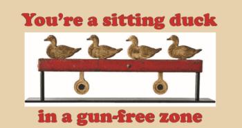 'Gun-Free Zones' graphic