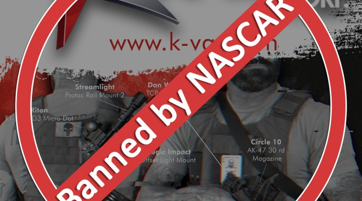 NASCAR chooses Anti-Gun stance