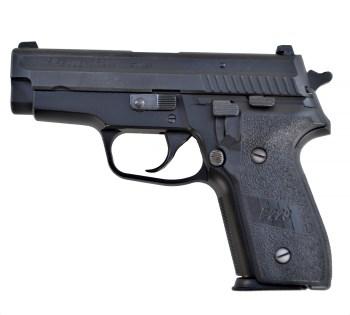 SIG Sauer P229 .40 S&W pistol left profile