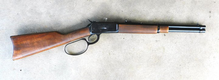 Rossi Frontier Lever Action rifle with enlarged lever loop