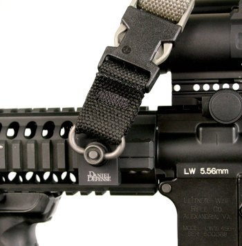 Daniel Defense rail mount for rifle slings