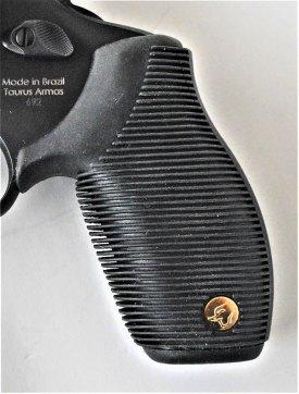Closeup of Taurus' Ribber Grips