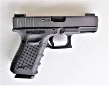 Glock 19 pistol right profile