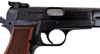 Bar Sto Precision barrel in a Browning handgun