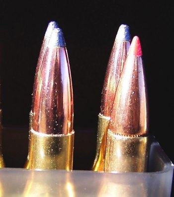 Nosler Partition bullets versus Hornady SST bullets