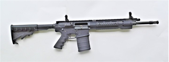 Ruger SR-762 .308 Winchester rifle right profile