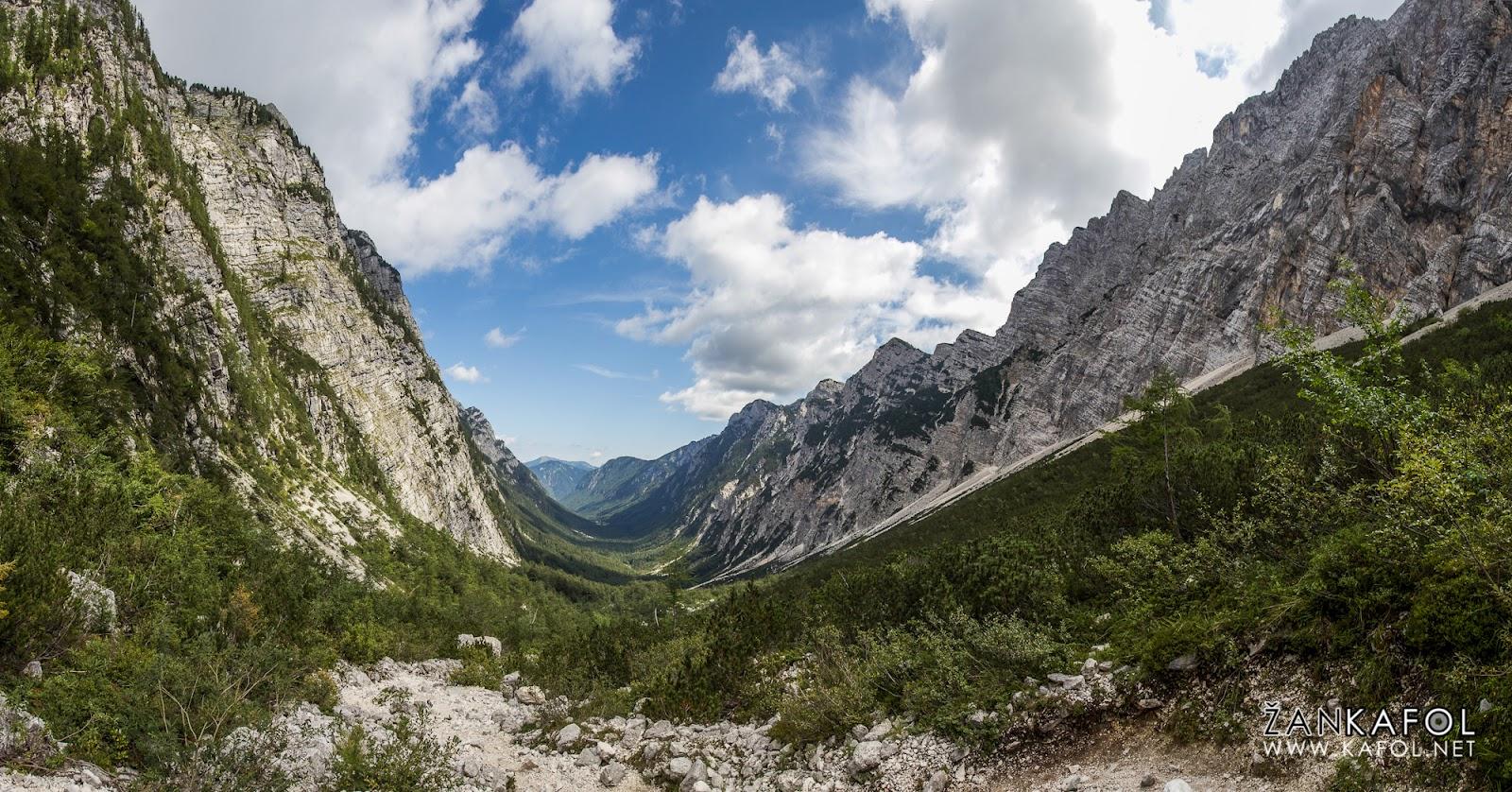 Ledeniška dolina Krma