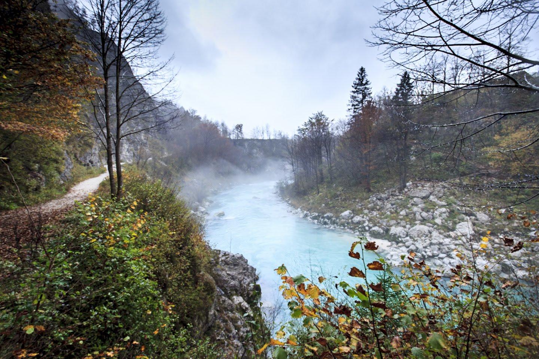 Smaragdna reka Soča