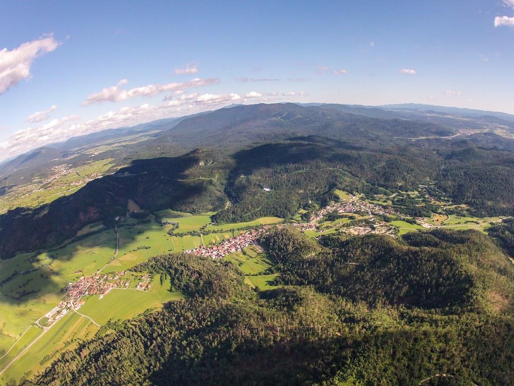 Planinsko polje in Planina iz zraka