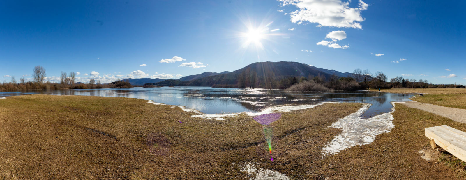 Rešeto - poplava - Cerkniško jezero