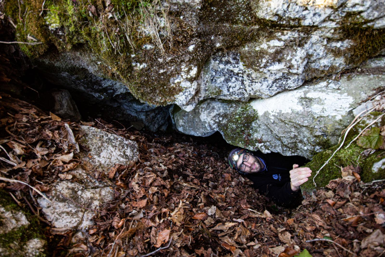 Matej v Veselovi jami
