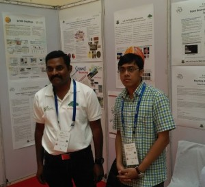 gvSIG at IIIT Booth in FOSS4G India 2015