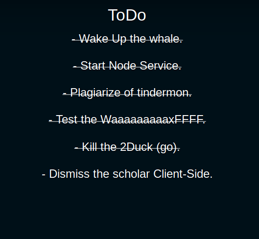 work-to-do