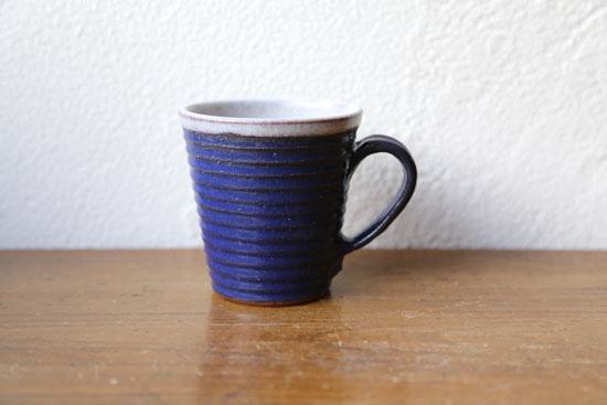 ボーダーマグカップ