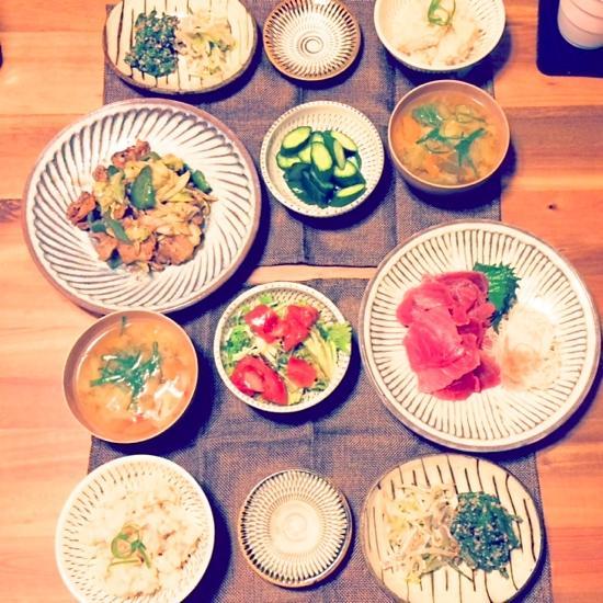神奈川のTさま 坂西さんの7寸皿
