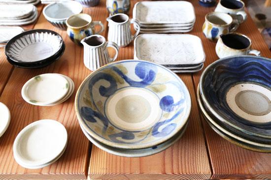 中ノ畑窯の8寸皿