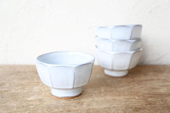 延興寺窯 面取り碗
