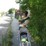 Experiencia con el portabebé Suppori en familia numerosa