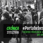 Crónica de la Gran Marcha #PortabebesBCN2016