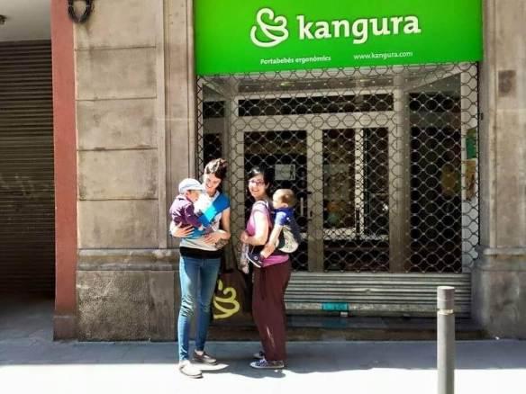 Tienda de Kangura portabebés