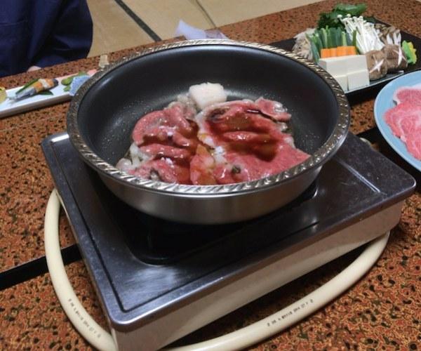Sukiyaki start
