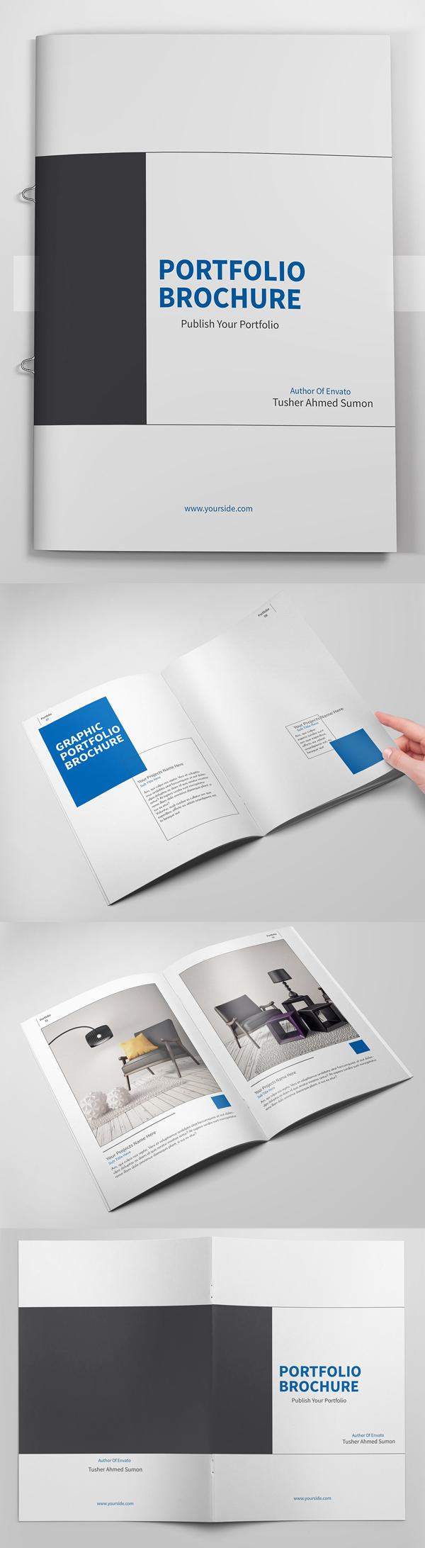 23 de las mejores plantillas de folletos comerciales - Ideakreativa
