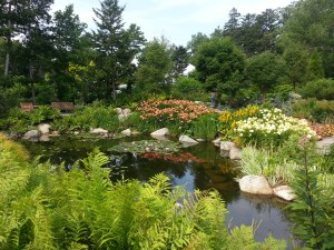 Botanical Gardens in Boothbay, Maine.  Photo (c) Karen Hammond