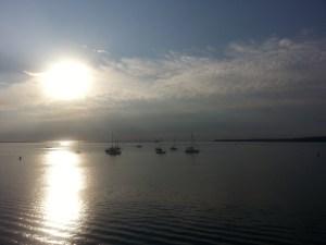 Sunrise over Rockland Harbor, Maine (c) Karen Hammond