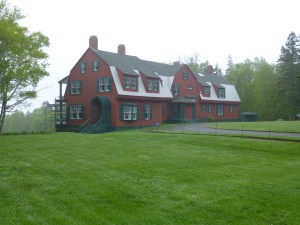 Franklin and Eleanor Roosevelt's summer home on Campobello. Photo (c) Nathaniel Hammond