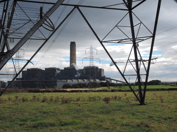 Mile 2 - Longannet Power Station. Sponsored by Sam and Emily Hesling.