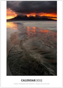 Cover - Sunset over Rum, Bay of Laig, Isle of Eigg