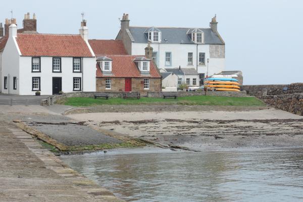 Mile 63 - Cellardyke Harbour. Sponsored by Dawn Carson, Kathleen and Robert Thorburn, Lorna and Ken Wilson, Colin Aimers, John Gaskell and Stina and Robert MacDonald.