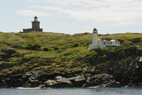 Main and Low Lighthouses, Isle of May
